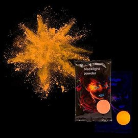 Blacklight Powder- Orange, 70g