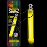 "6"" Supreme Glow Stick - Yellow"