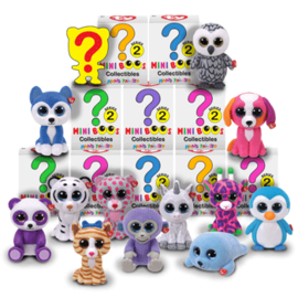 TY Mini Boos Collectible- Series 2