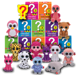 TY Mini Boos Collectible- Series 3
