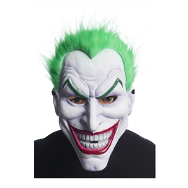 Adult Joker Mask with Hair