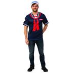 Adult Stranger Things Steve's Scoops Ahoy Uniform