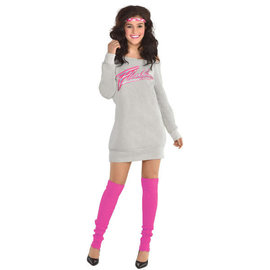 Flashdance Sweatshirt Dress - Women Standard