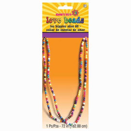 Festical Love Beads Necklace-72""