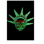 The Purge- Election Year Lady Liberty Light Up Mask