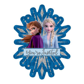 ©Disney Frozen 2 Deluxe Jumbo Invitations- 8ct