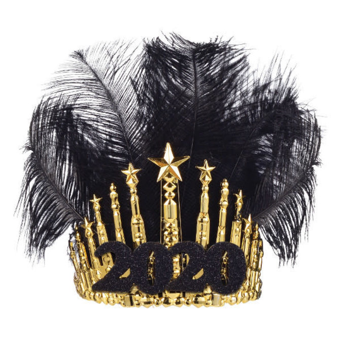 2020 Gilded Feather Crown