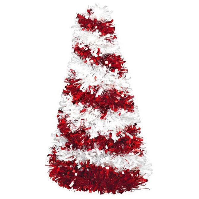 Small Tree Centerpiece - Candy Cane -10""