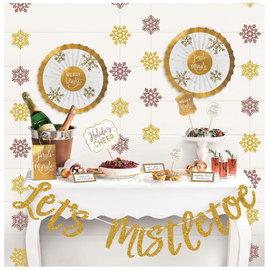 Let's Mistletoe Deluxe Buffet Decorating Kit - 23pc