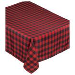 """Buffalo Plaid Fabric Table Cover- 60"""" x 104"""""""
