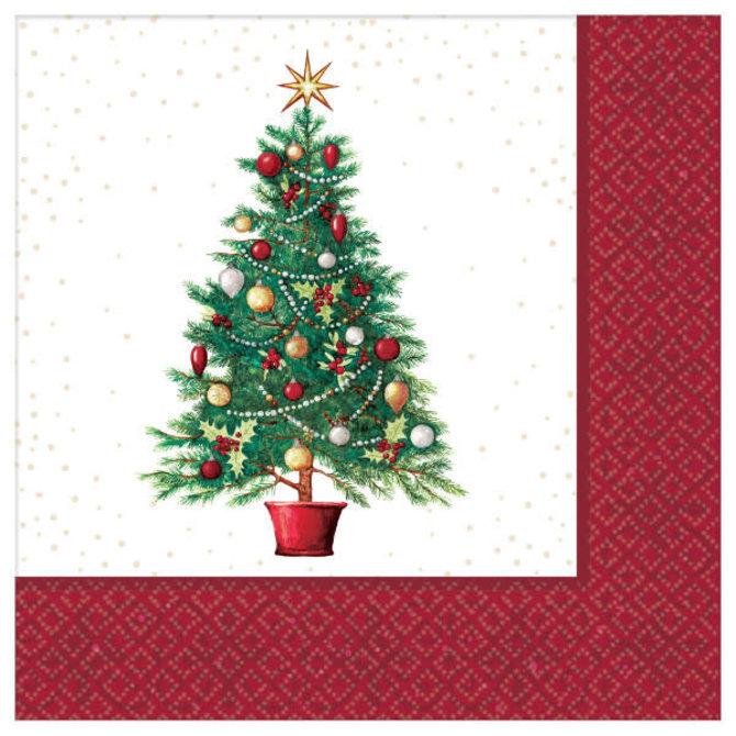 Oh Christmas Tree Luncheon Napkins, 125ct