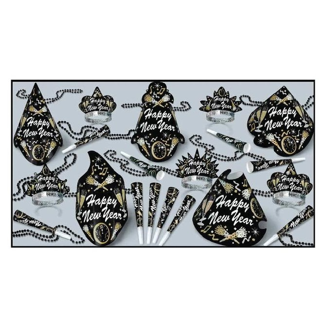 New Year Tymes NYE Party Assortment for 10