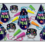 Neon Brite NYE Party Assortment for 10