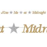 """Kiss Me At Midnight Streamer, 6½"""" x 8'"""