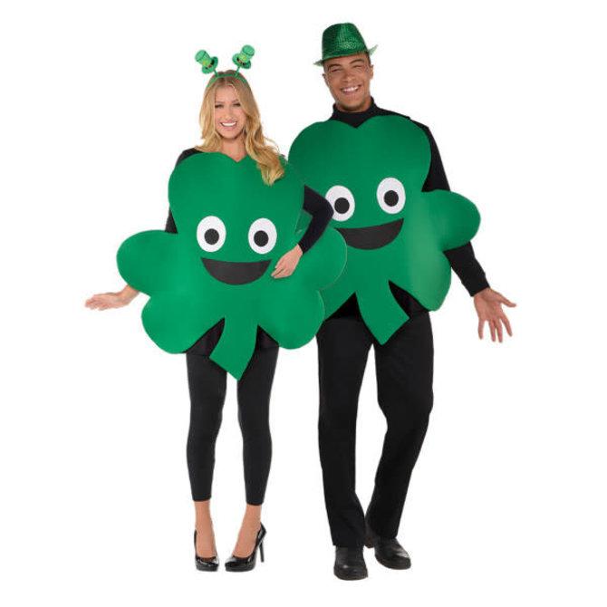 St. Patrick's Day Shamrock Costume - Adult Unisex Standard