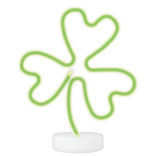 St. Patrick's Day Shamrock Neon LED Light