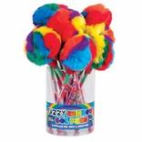Fuzzy Rainbow Gel Pen