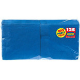 Bright Royal Blue Big Party Pack Luncheon Napkins, 125ct