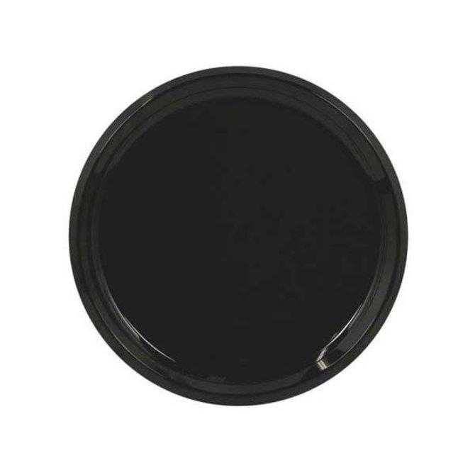 """16"""" Swirl Platter - Black"""