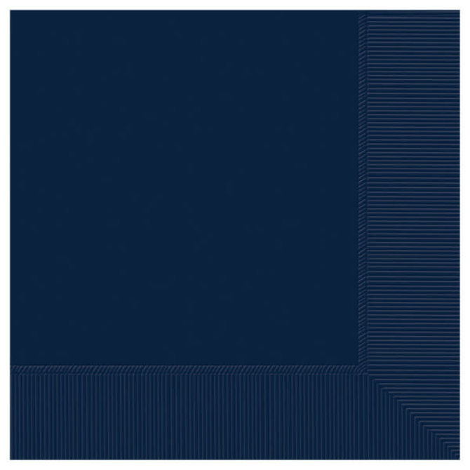 Navy Luncheon 2-Ply Napkins, 50ct