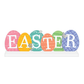 "Easter Egg Base Standing Sign -6 2/5"" x 21"""