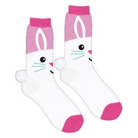 Easter Bunny Crew Socks