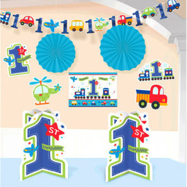 All Aboard Birthday Room Decorating Kit