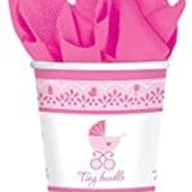 Celebrate Baby Girl 9 oz Cups, 18ct