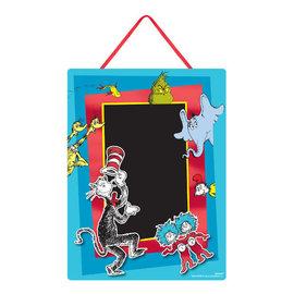 Dr. Seuss Cardboard Easel Sign Chalkboard