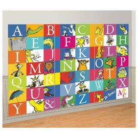 Dr. Seuss Alphabet 3 Panel Scene Setters®