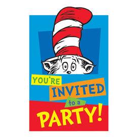 Dr. Seuss Postcar Invitations, 8ct