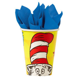 Dr. Seuss 9 oz Paper Cups, 8ct
