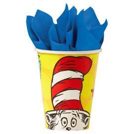 Dr. Seuss 9 oz Paper Cups, 8ct