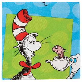 Dr. Seuss Luncheon Napkins, 16ct