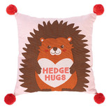 Valentine's Day Hedge Hugs Pillow