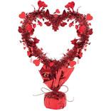 Tinsel Heart Centerpiece