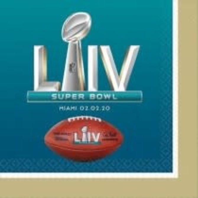 Super Bowl LIV Luncheon Napkin, 16ct