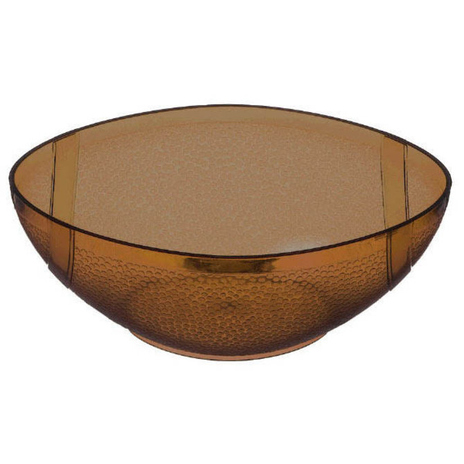 Football Plastic Dipping Bowl
