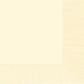 Vanilla Crème 2-Ply Luncheon Napkins, 50ct