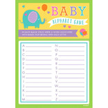 Baby Shower A to Z Game -24ct