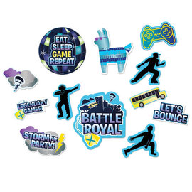 Battle Royal Cutouts, Value Pack- 12ct