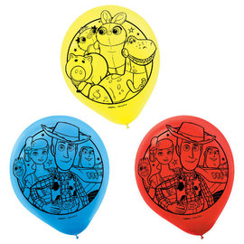 "©Disney/Pixar Toy Story 4 Printed 12"" Latex Balloons, 6ct."