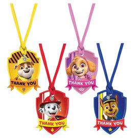 Paw Patrol™ Adventures Thank You Tags -8ct