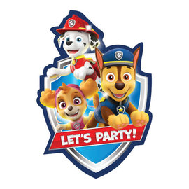Paw Patrol™ Adventures Postcard Invitations -8ct