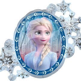 Frozen 2 Elsa and Anna Foil Balloon, 30""