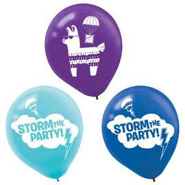 "Battle Royal 12"" Latex Balloons -6ct"