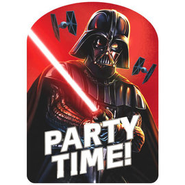 Darth Vader Jumbo Deluxe Invite- 8ct