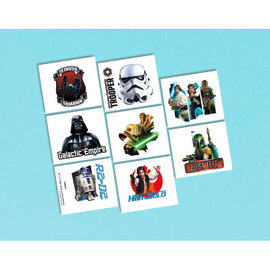 Star Wars™ Classic Tattoo Favors -8ct