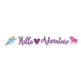My Little Pony Friendship Adventures™ Glitter Ribbon Letter Banner