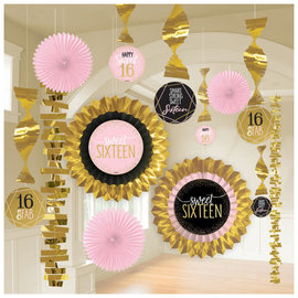 Blush Sixteen Paper And Foil Decorating Kit, 13ct